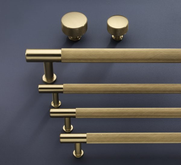 Henley Family in Brushed Satin Brass
